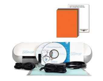 Silhouette Portrait Cutter Bundle with 10 ChromaSheets