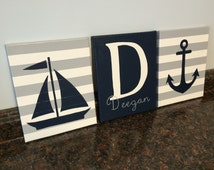 Popular items for name paintings on etsy for Anchor decoration runescape