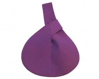 Fuchsia Evening Bag. Silk Evening Purse. Handbag. Purse. Silk Purse. Special Occasion Bag. Hand Made in Pure Shot Dupion Silk.