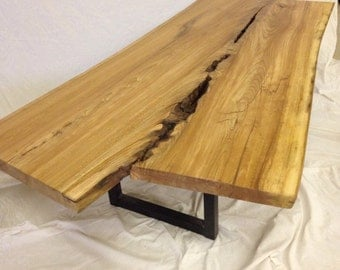 Live Edge Coffee Tables - Live Edge Table - Live Edge Wood Slab Table - Live Edge Slab - Wood Slab Coffee Table - Wood Coffee Table