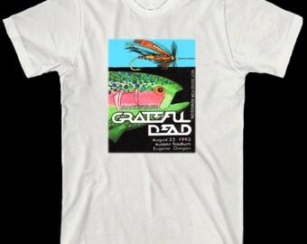Grateful Dead T Shirt  VTG Style  1993 Tour  Eugene OR
