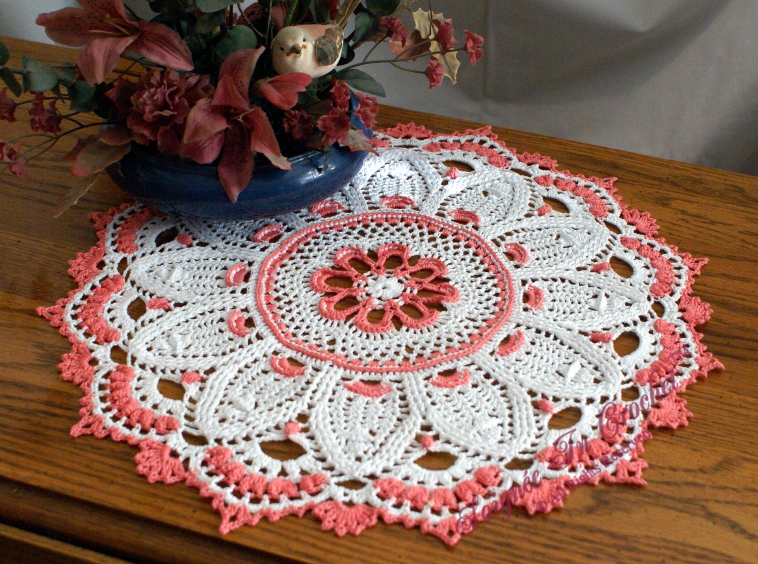 Picot Edging Lace Doily