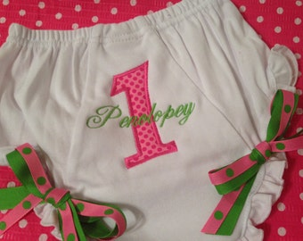 Baby Bloomers CUSTOM EMBROIDERY