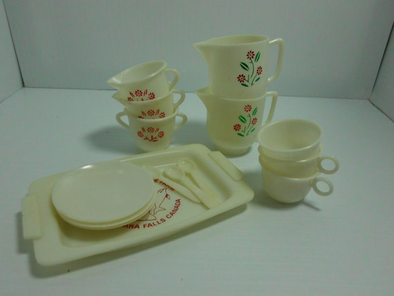 Toy Tea Sets For Boys : Vintage toy tea set from marineland and game farm by