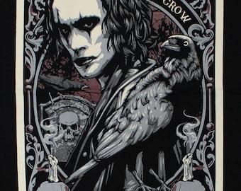 The Crow Comic book Movie 10  Black Timber Black T-shirt Sz. S,M,L,XL,XXL