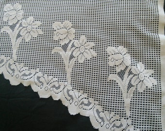 popular items for cottage chic valance on etsy