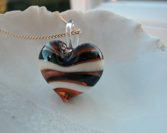 Chunky Venetian Murano Glass Necklace