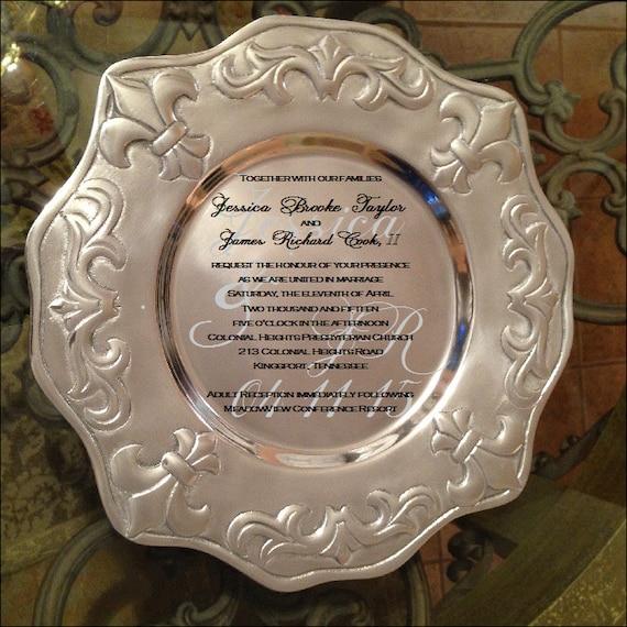 Perfect Wedding Gifts: Perfect Wedding Gift Wedding Tray Engraved Tray
