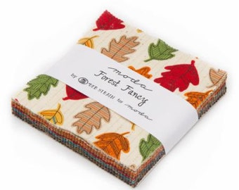 Charm Pack - Forest Fancy by Deb Strain - Moda Fabrics - (19710PP)