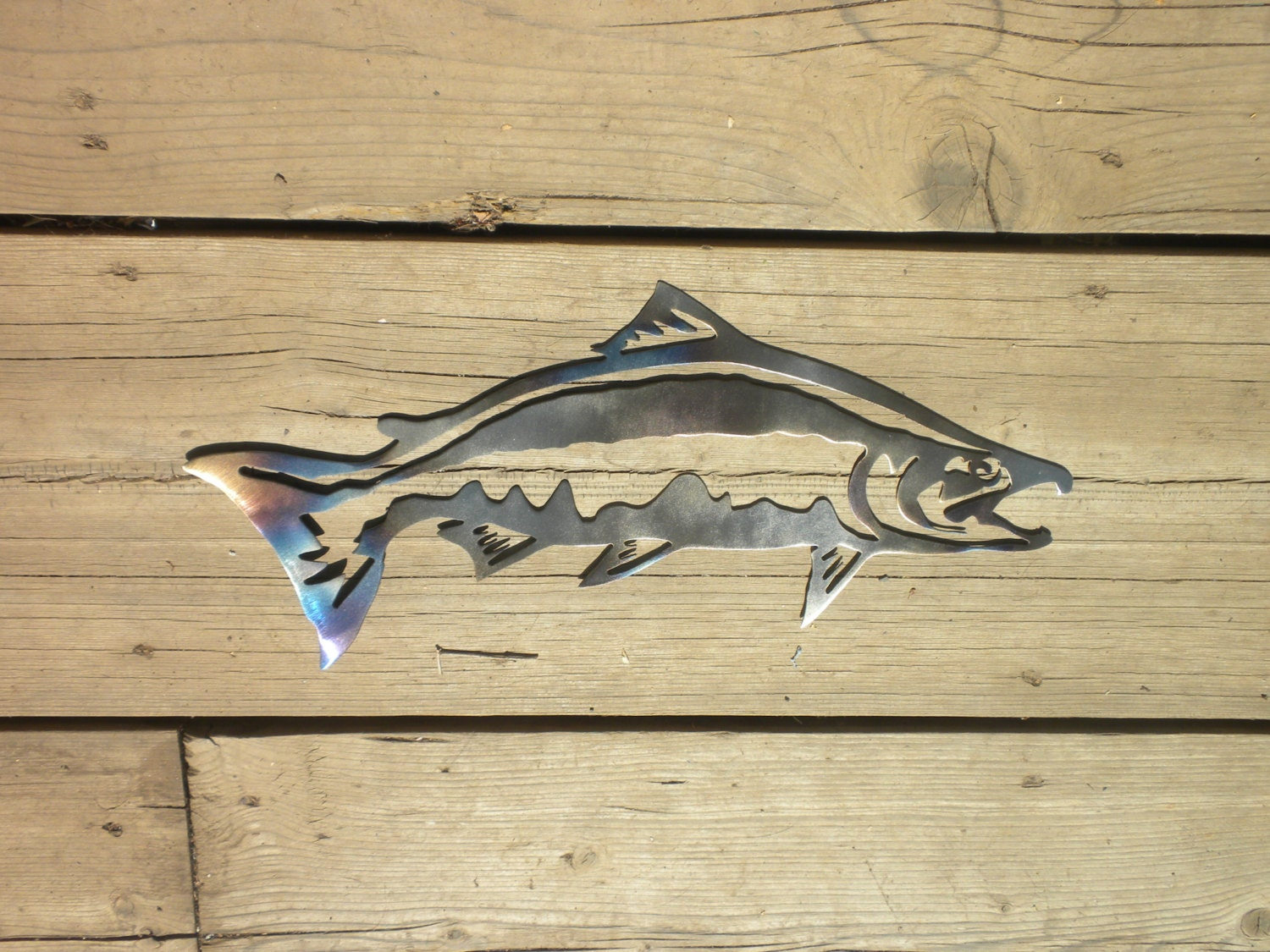 Beautiful Metal Wall Art Fish Frieze - Wall Art Collections ...