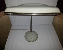 goose lamp antique white desk lamp drafting lamp bright light. Black Bedroom Furniture Sets. Home Design Ideas