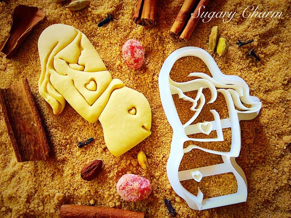 pregnant lady cookie cutter