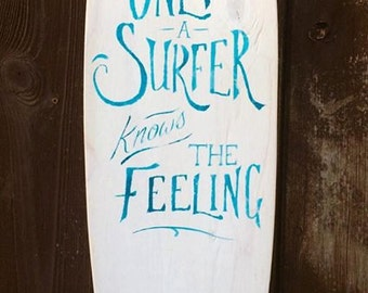 Surfboard design - only a surfer knows the feeling