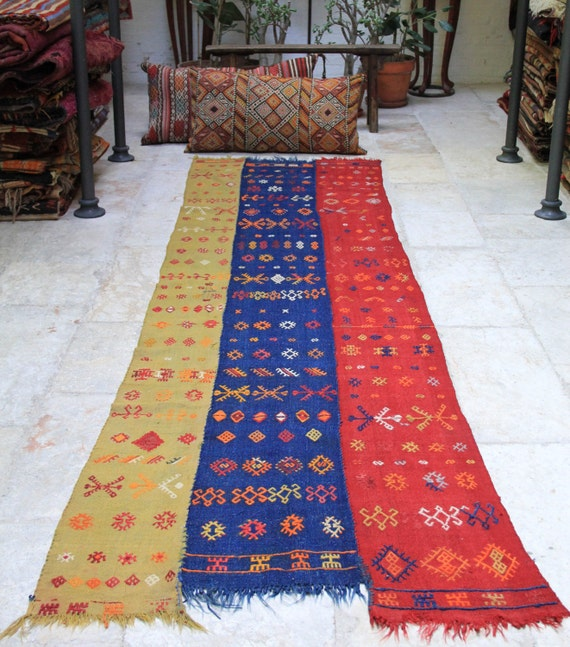 Items Similar To Large Turkish Vintage Kilim Rug Runner