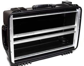 Portable Waterproof Eurorack Case, 104HP 6U + 1U (7U)