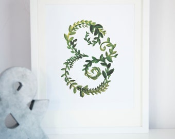 Spring Green Ampersand Print