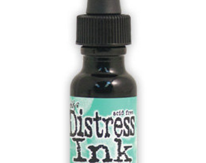 Tim Holtz Distress Ink Reinker - CRACKED PISTACHIO January 2015