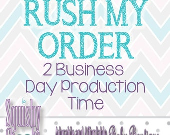 2 Business Day Production Rush - Squishy Cheeks