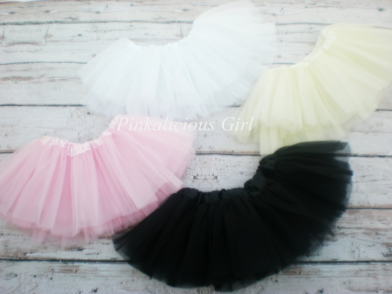 Baby, Infant, Toddler Tutus. Come Shop our wide variety of Newborn Little Girl Tutus. We are sure you will love all our handmade Tulle tutu creations that are Soft and stretchy for your princess.