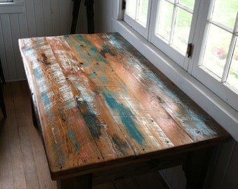 The Great Lakes Reclaimed Harvest Table