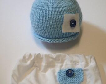 set newborn photo props