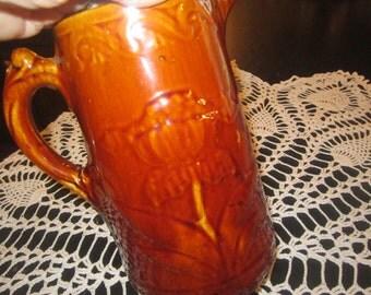 Antique Salt Glazed/ Stoneware/ Earthenware Milk Picture