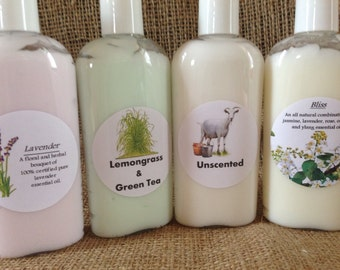 Goats Milk and Honey Lotion-4oz