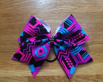Aztec Cheer Bow