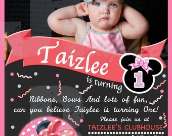 Minnie Mouse Ribbons and Bows