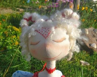 Art textile Doll Nika