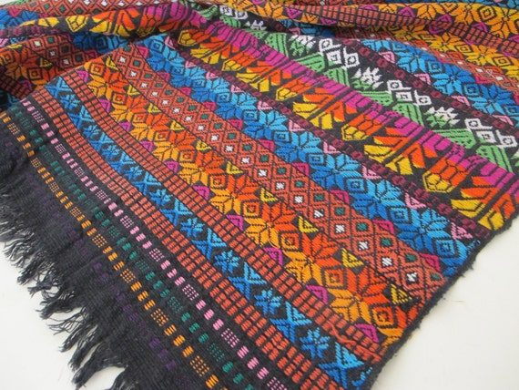 Guatemala Table Runner Hand Woven Table By Belindasstyleshop