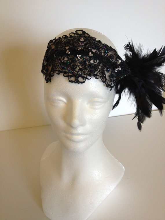 great gatsby style hair accessories items similar to great gatsby hair accessories great 7346