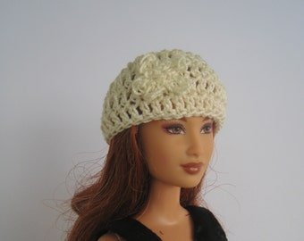 Fashion doll clothes - Beanie hat for Barbie or fashion doll - several colors