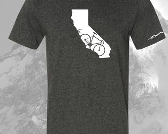 California Bicycle T Shirt