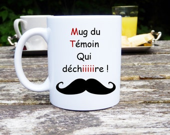 Original and customizable Mug French word