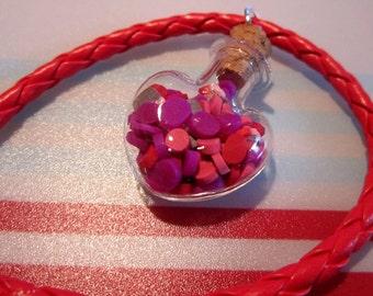 Bracelet floating heart