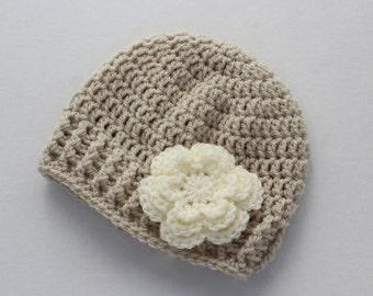 Baby hat, baby girl hat, crochet baby hat, baby girl hat, girl winter hat, infant hat, crochet beanie, baby beanie, baby girl, newborn hat