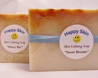 On Sale! Happy Skin Soap Bar - Help Calm Irritated Skin