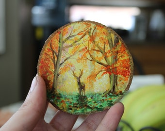 Hand Painted Magnets - 2 Pack