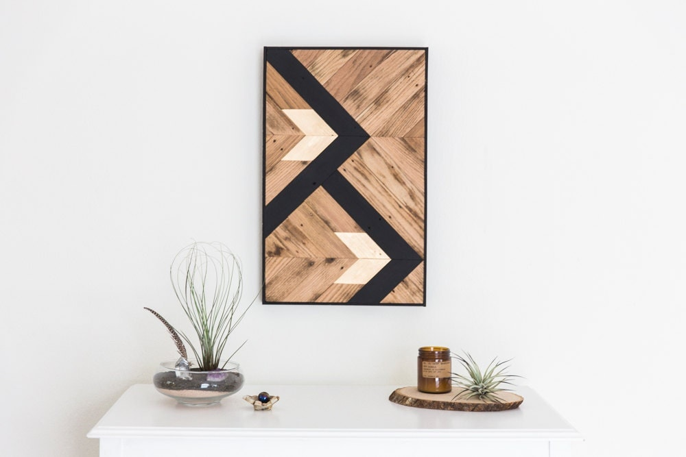 Wall Art Black Gold : Reclaimed wood wall art black and gold designs by