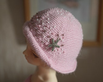 Pretty hat for Minifee and MSD dolls