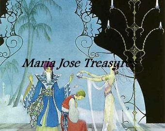 "Vintage Images ""Arabian Nights"" - Digital Download"