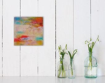 Celebration (Encaustic Painting)