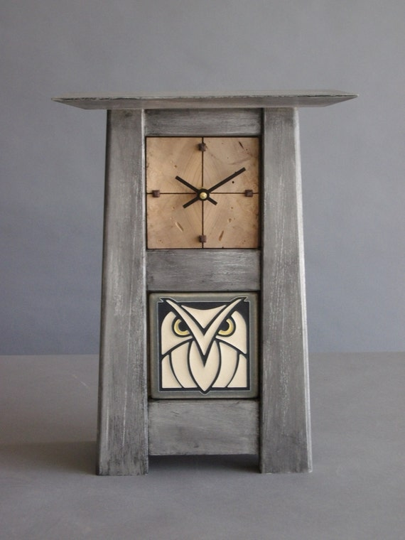 Arts And Crafts Clock Motawi Tile