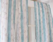 Shabby Chic Curtains | Bohemian Curtains | Handmade Gypsy Curtains | Set of 2 Panels