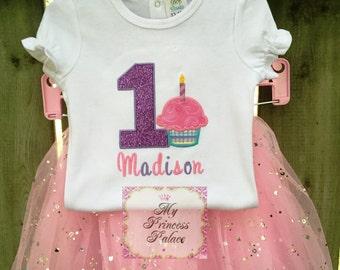 Personalized Cupcake Shirt