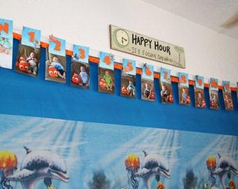 Nemo Newborn Banner, Nemo banner, Nemo monthly banner