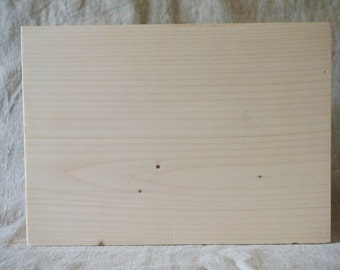Block of raw wood