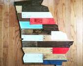 Kentucky made from Vegetable Crate Wood