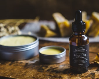 Natural Beard Oil | Hand-Poured